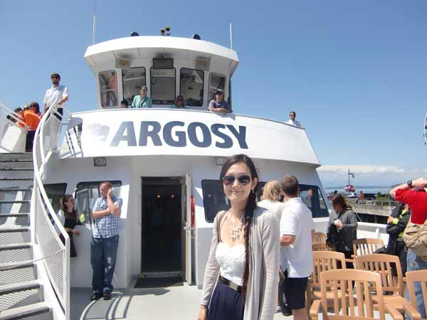 Deck of an Argosy Ship