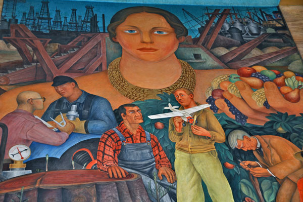 Mural tours in san francisco through an artist s eyes for City college of san francisco diego rivera mural