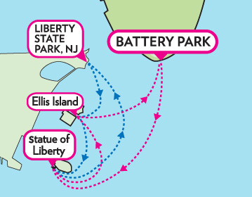 Visiting The Statue Of Liberty What You Need To Know CityPASS - Where is the statue of liberty located