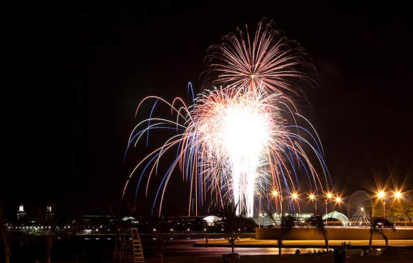 Navy Pier Fireworks, Chicago