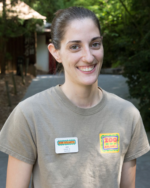 Jen Webb - Panda keeper at Zoo Atlanta